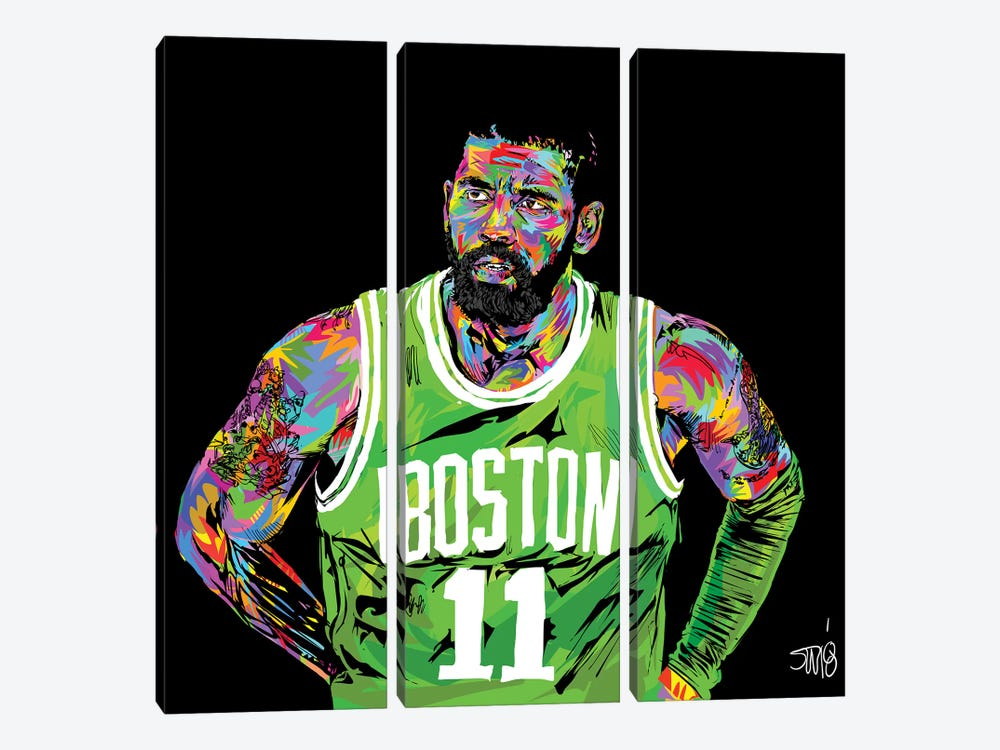 Kyrie Irving by TECHNODROME1 3-piece Canvas Print