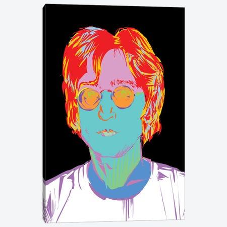 Lennon Canvas Print #TDR181} by TECHNODROME1 Canvas Art Print