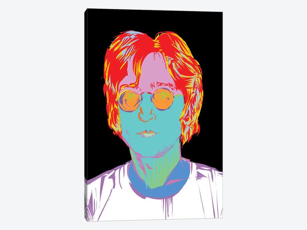 Lennon by TECHNODROME1 1-piece Canvas Art