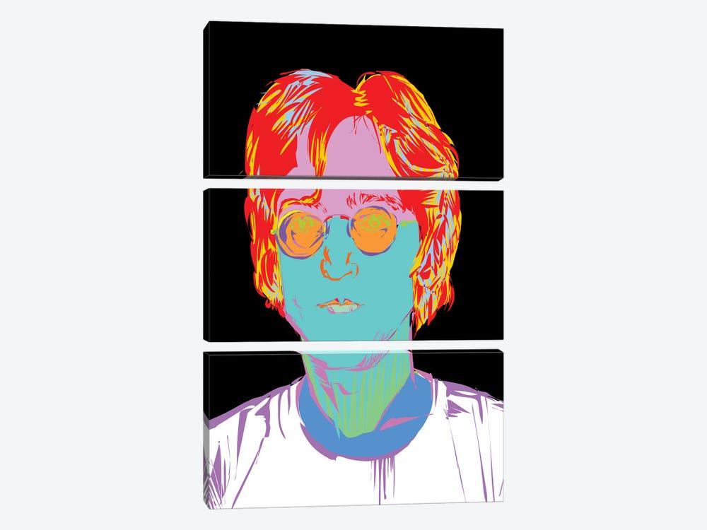Lennon by TECHNODROME1 3-piece Canvas Wall Art