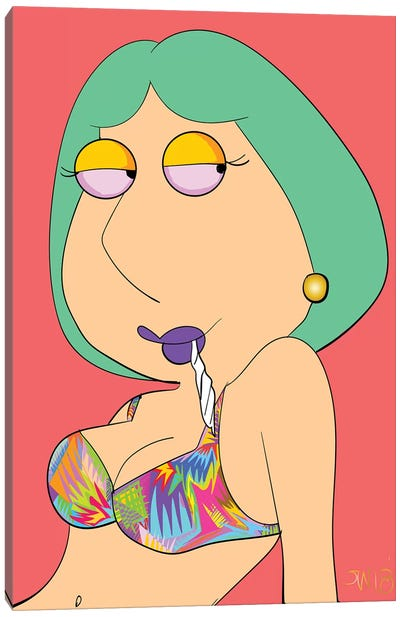 Lois Canvas Art Print
