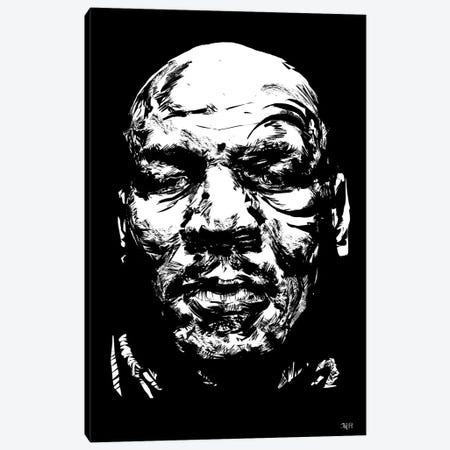 Mike Tyson Canvas Print #TDR186} by TECHNODROME1 Canvas Wall Art