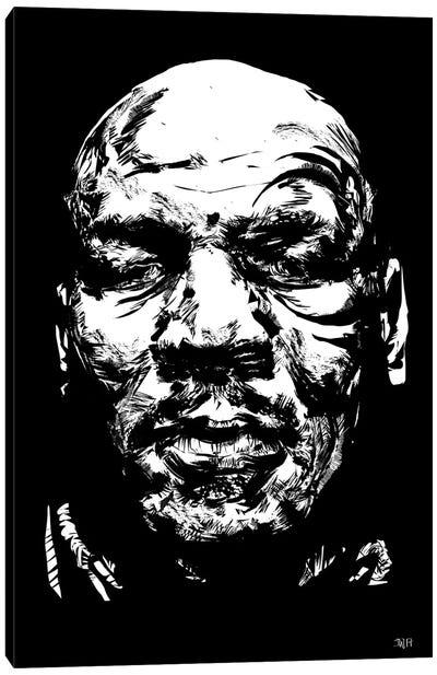 Mike Tyson Canvas Art Print