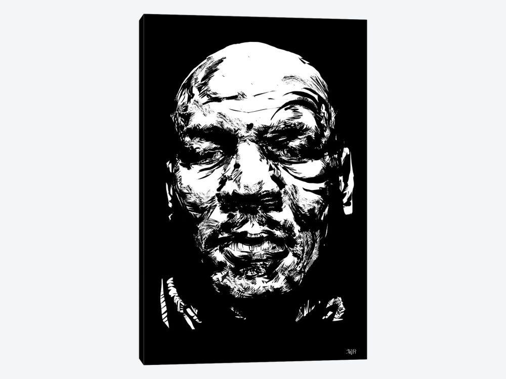 Mike Tyson by TECHNODROME1 1-piece Art Print