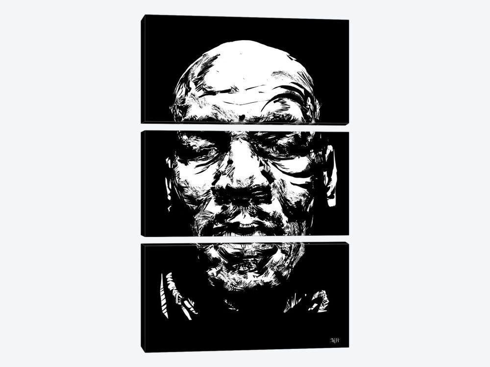 Mike Tyson by TECHNODROME1 3-piece Art Print