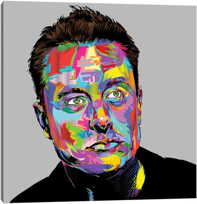 Musk Canvas Art Print