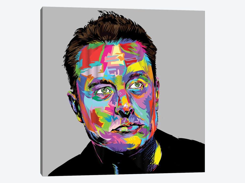 Musk by TECHNODROME1 1-piece Canvas Wall Art