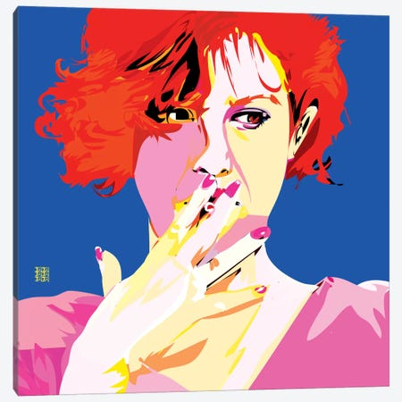 Breakfast Club II Canvas Print #TDR18} by TECHNODROME1 Canvas Print
