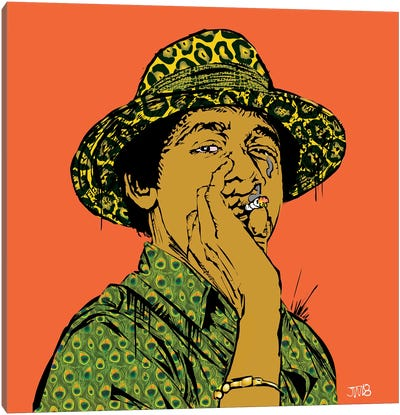 Obama Joint Canvas Art Print