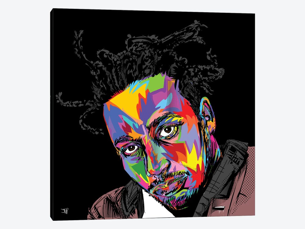 ODB by TECHNODROME1 1-piece Canvas Art Print