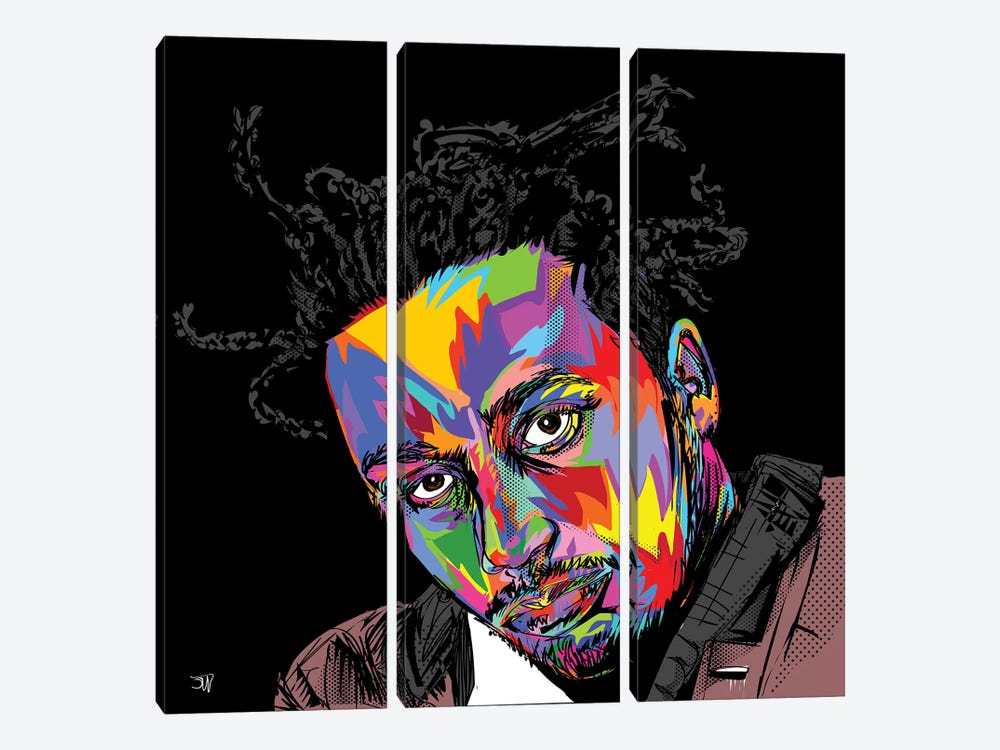 ODB by TECHNODROME1 3-piece Canvas Art Print