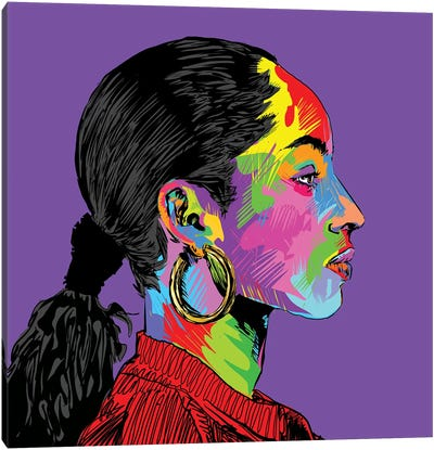 Sade Canvas Art Print
