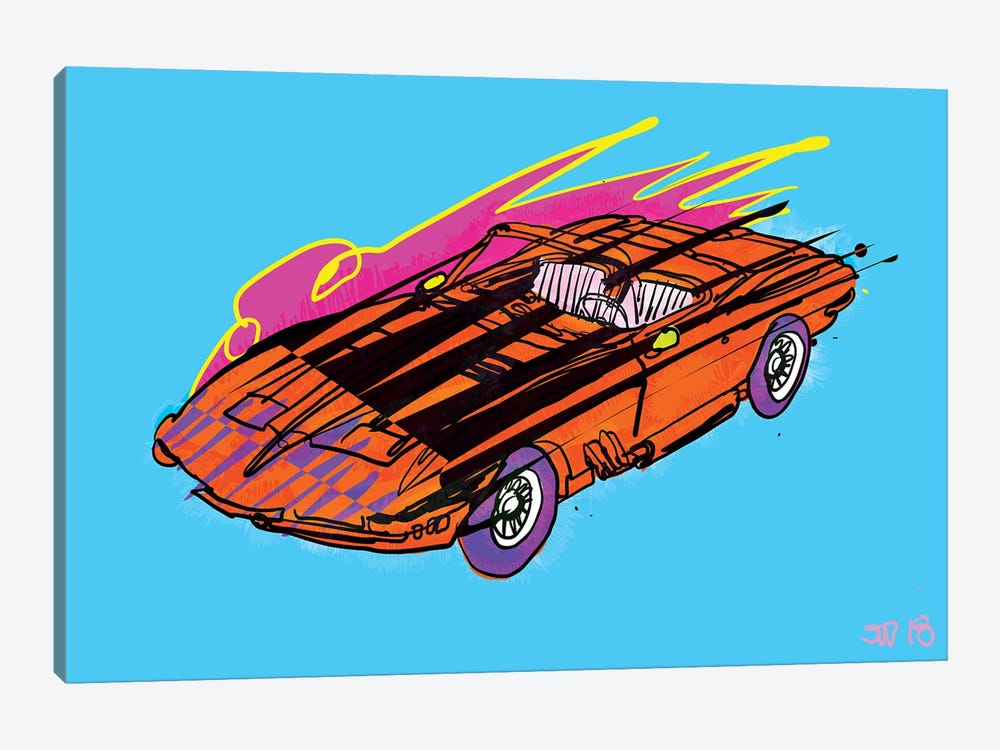 Vroom by TECHNODROME1 1-piece Canvas Print