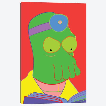 Zoidberger Canvas Print #TDR196} by TECHNODROME1 Canvas Print