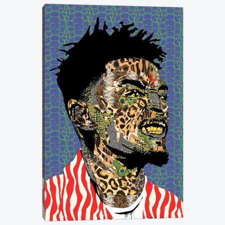 21 Savage II Canvas Print #TDR197} by TECHNODROME1 Canvas Art Print