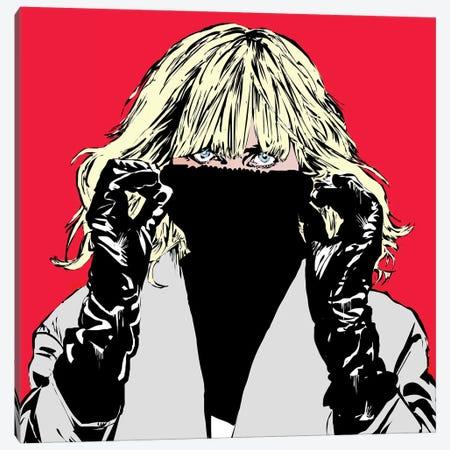 Atomic Blonde Canvas Print #TDR198} by TECHNODROME1 Canvas Wall Art