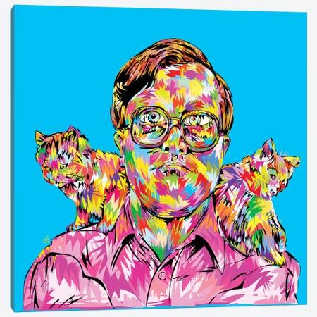 Bubbles Canvas Print #TDR19} by TECHNODROME1 Art Print