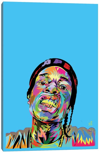 A$AP Rocky Canvas Art Print