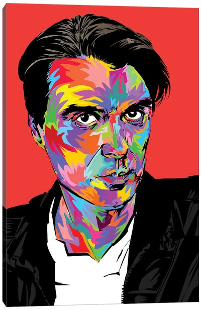 David Byrne Canvas Art Print