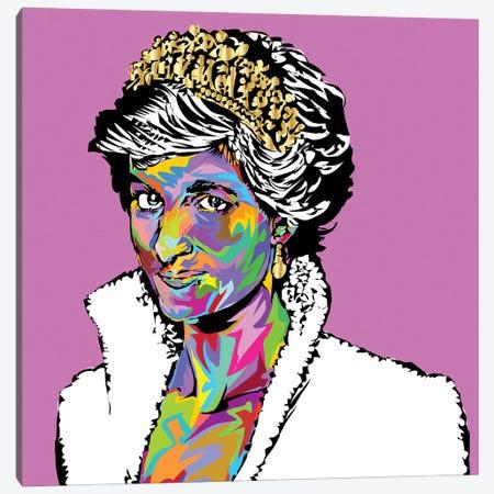 Diana Canvas Print #TDR203} by TECHNODROME1 Canvas Wall Art