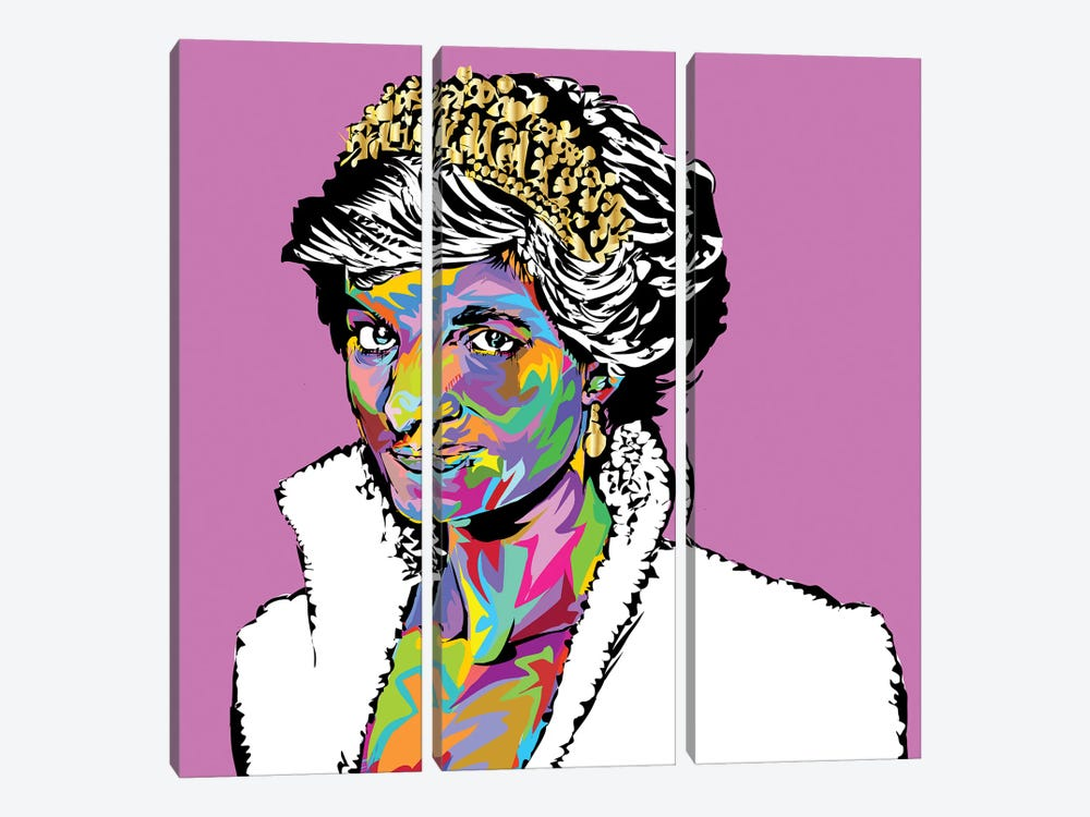 Diana by TECHNODROME1 3-piece Canvas Artwork