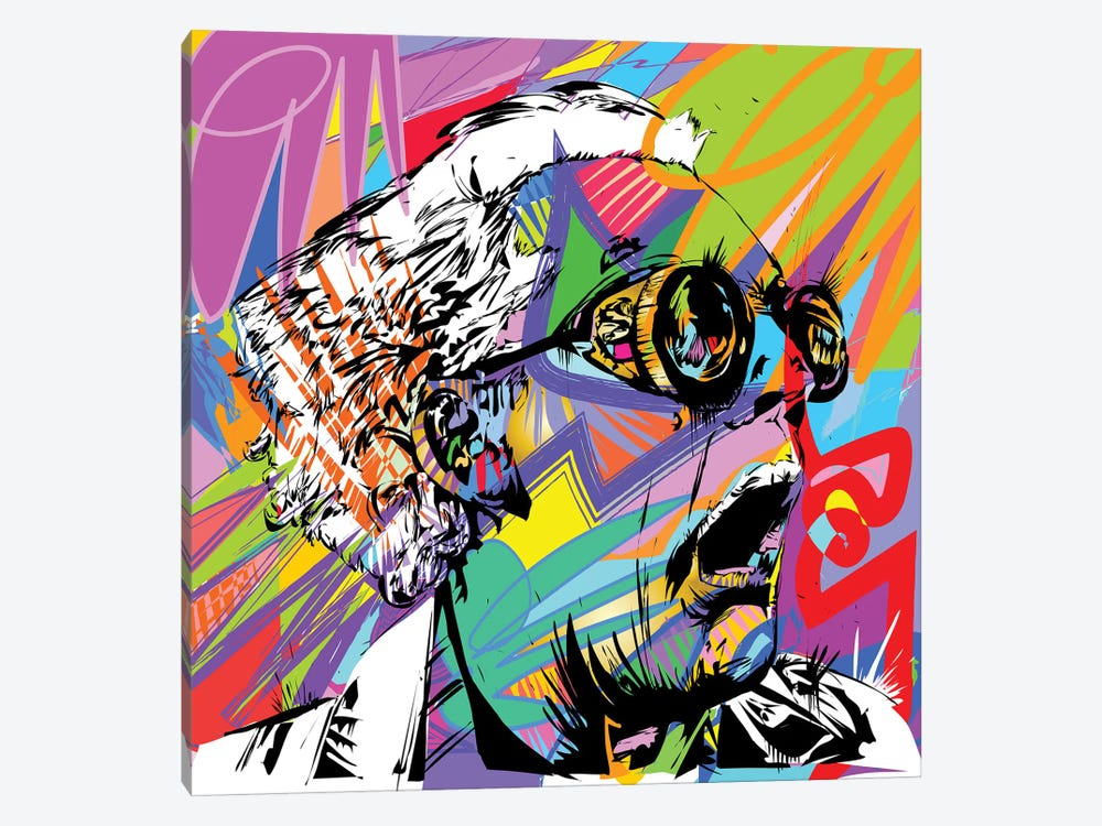 Doc Brown by TECHNODROME1 1-piece Canvas Art Print