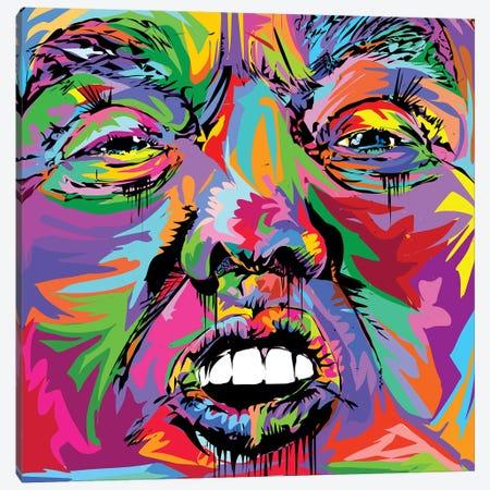 Donald Canvas Print #TDR205} by TECHNODROME1 Canvas Print