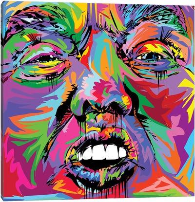 Donald Canvas Art Print