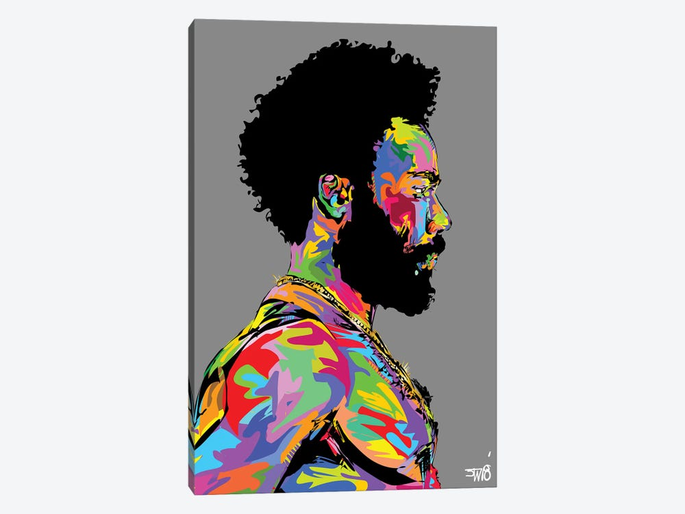 Donald Glover 1-piece Canvas Art Print
