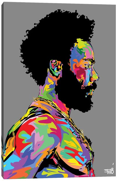 Donald Glover Canvas Art Print