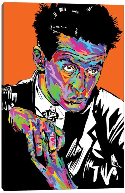 Egon Canvas Art Print
