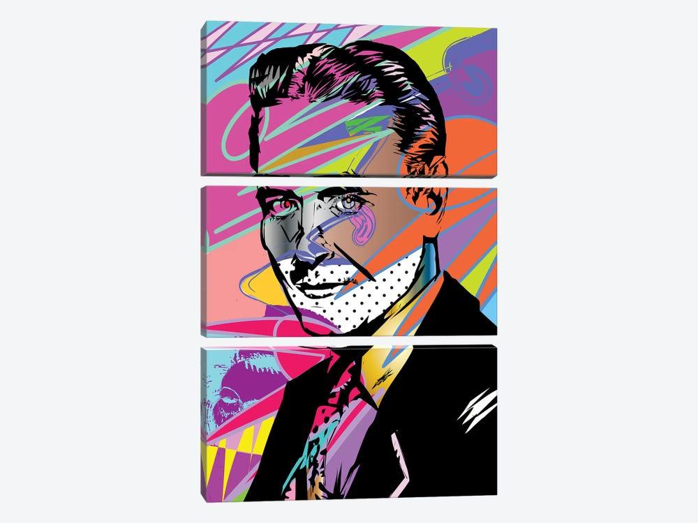 F Scott Fitzgerald by TECHNODROME1 3-piece Canvas Artwork