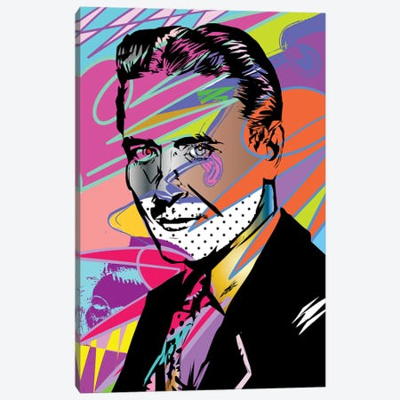F Scott Fitzgerald Canvas Print #TDR210} by TECHNODROME1 Canvas Art Print