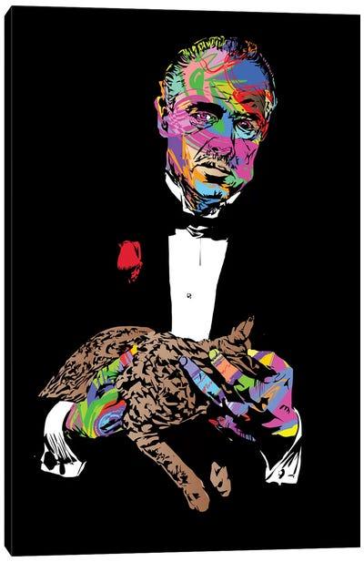 Godfather Canvas Art Print