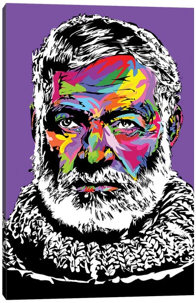 Hemingway Canvas Art Print