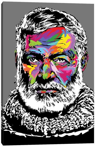 Hemingway IV Canvas Art Print