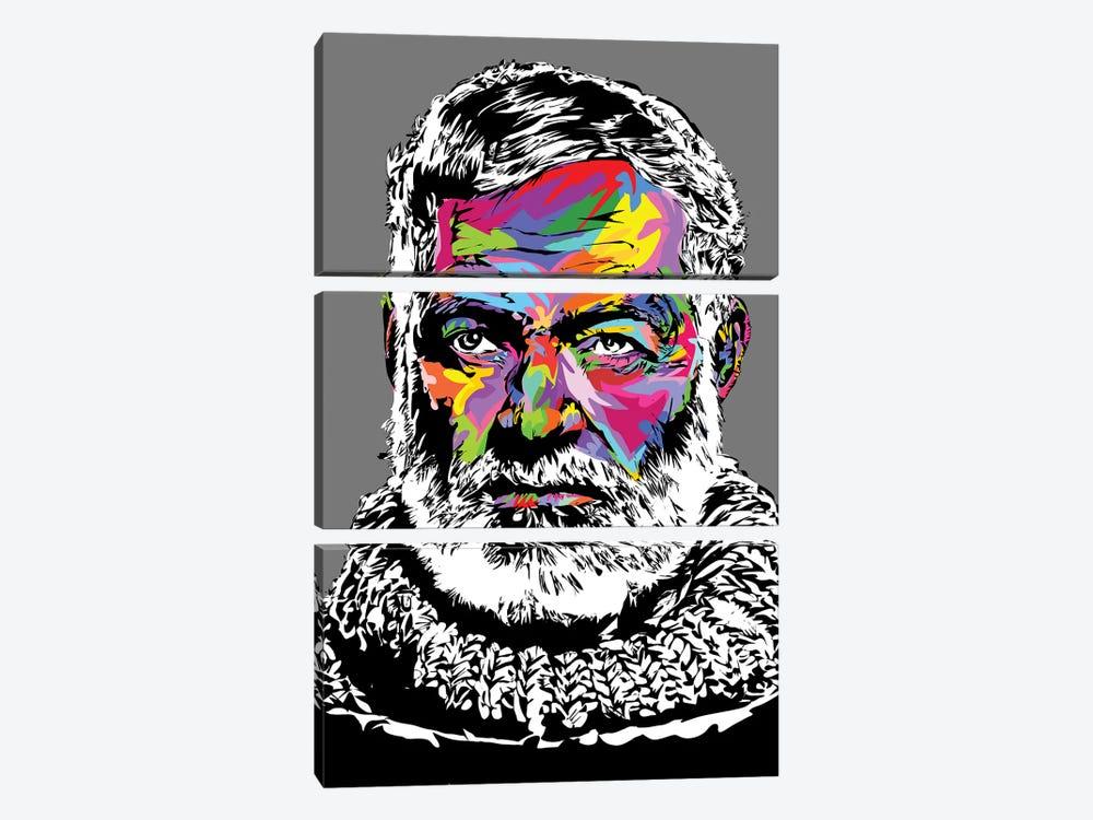 Hemingway IV by TECHNODROME1 3-piece Canvas Wall Art