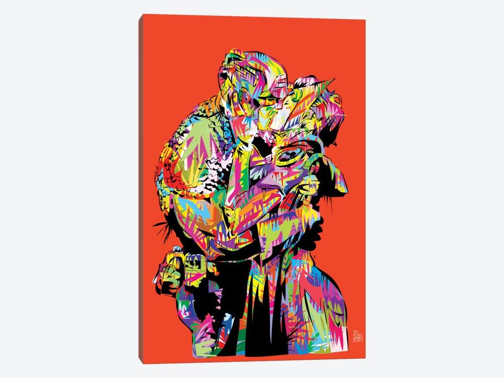 Captain A (The Kiss) by TECHNODROME1 1-piece Art Print