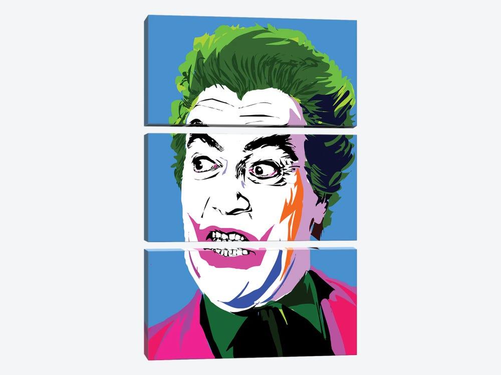 Joker Classic by TECHNODROME1 3-piece Canvas Art Print