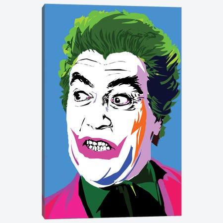 Joker Classic Canvas Print #TDR222} by TECHNODROME1 Canvas Artwork