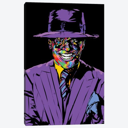 Joker Nicholson Canvas Print #TDR223} by TECHNODROME1 Canvas Art