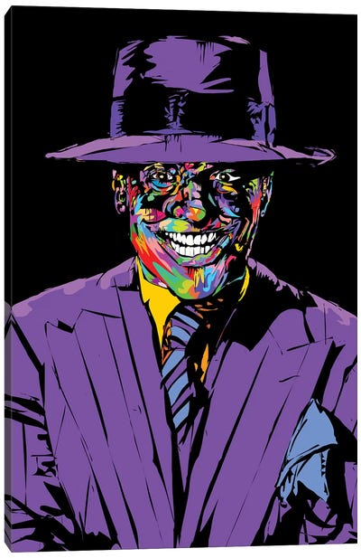 Joker Nicholson Canvas Art Print