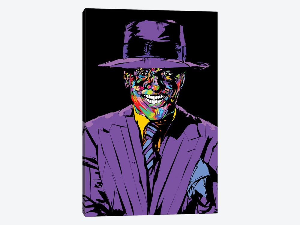 Joker Nicholson by TECHNODROME1 1-piece Canvas Wall Art