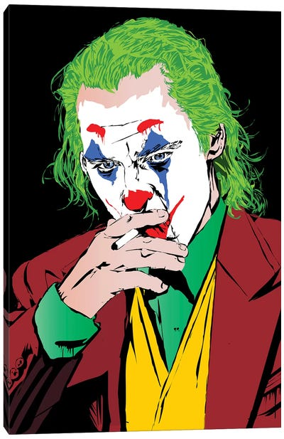 Joker Pheonix Canvas Art Print
