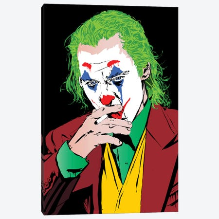 Joker Pheonix Canvas Print #TDR224} by TECHNODROME1 Canvas Art Print