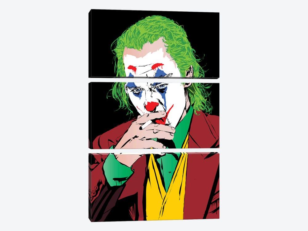 Joker Pheonix by TECHNODROME1 3-piece Art Print