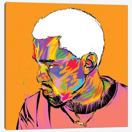 Kanye Canvas Print #TDR225} by TECHNODROME1 Art Print
