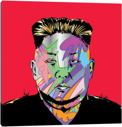 Kim Jong Canvas Art Print