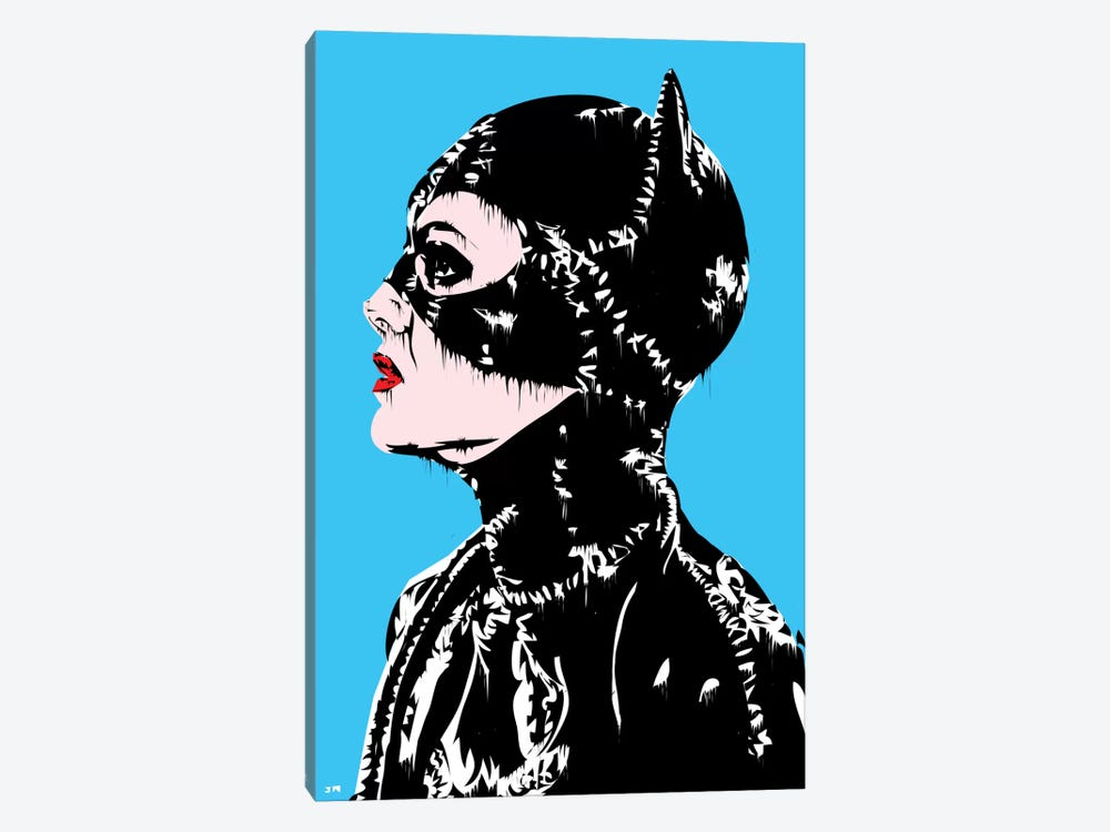 Catwoman by TECHNODROME1 1-piece Canvas Wall Art