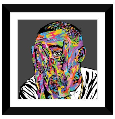 Mac Miller Framed Art Print